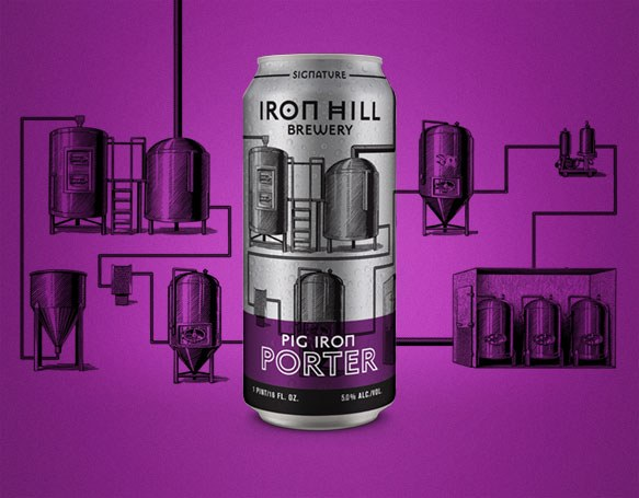 Pig Iron Porter Cans