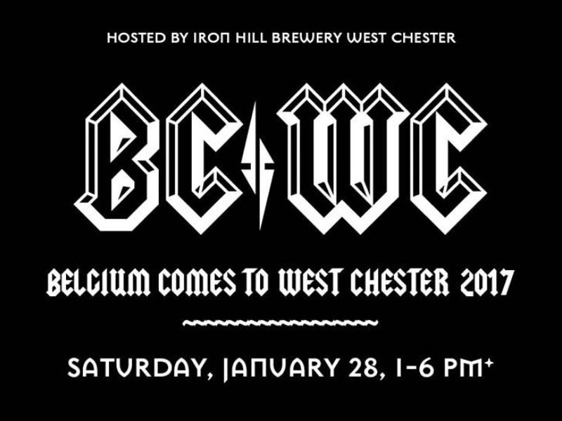 Brewers Dish on Iron Hill's Belgium Comes to West Chester on January 28