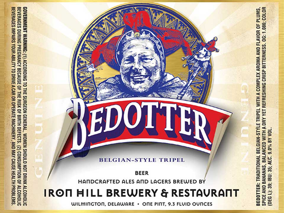 "The Iconic Iron Hill Tripel Rebrands as a ""Trickster"" of Beers—Meet Bedotter"