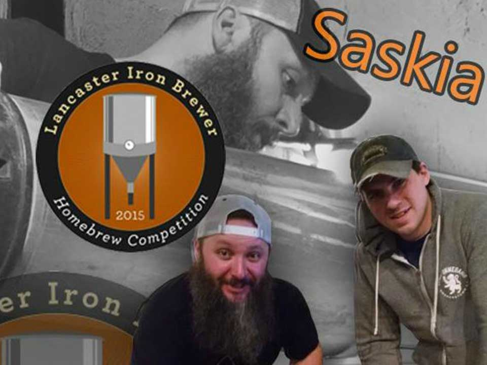 Taste Saskia — 2015 Lancaster Iron Brewer Homebrew Competition Winner