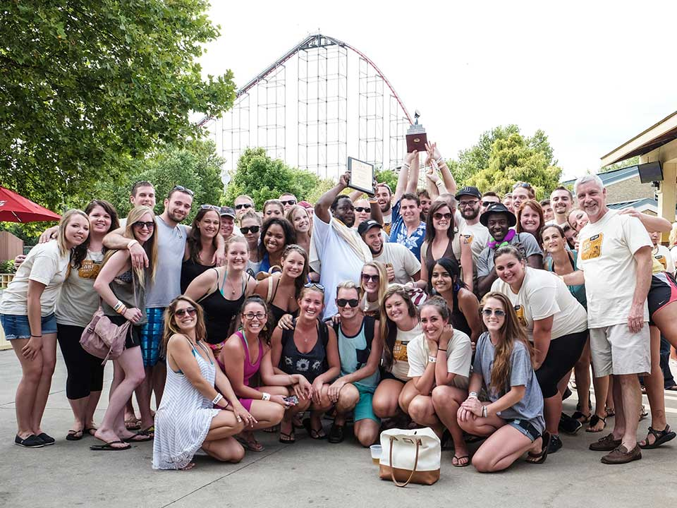 Iron Hill Owners Treat Staff to 2014 GABF Party at Dorney Park