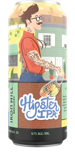 Hipster IPA Can