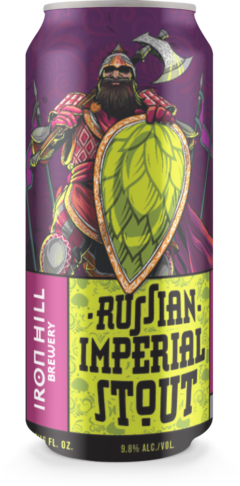 Russian Imperial Stout Can