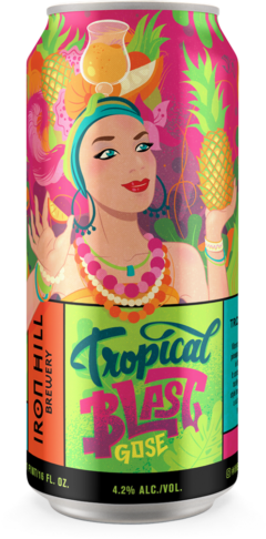 Tropical Blast Gose Can