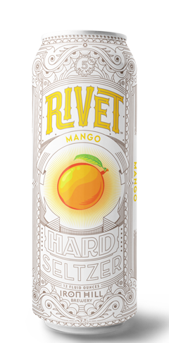 Rivet Hard Seltzer - Mango Can